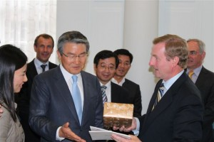 Taoiseach receives bhsl Delegation, including Mayor of Pohang City, Korea